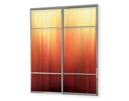 Glass panels for wardrobes 01007